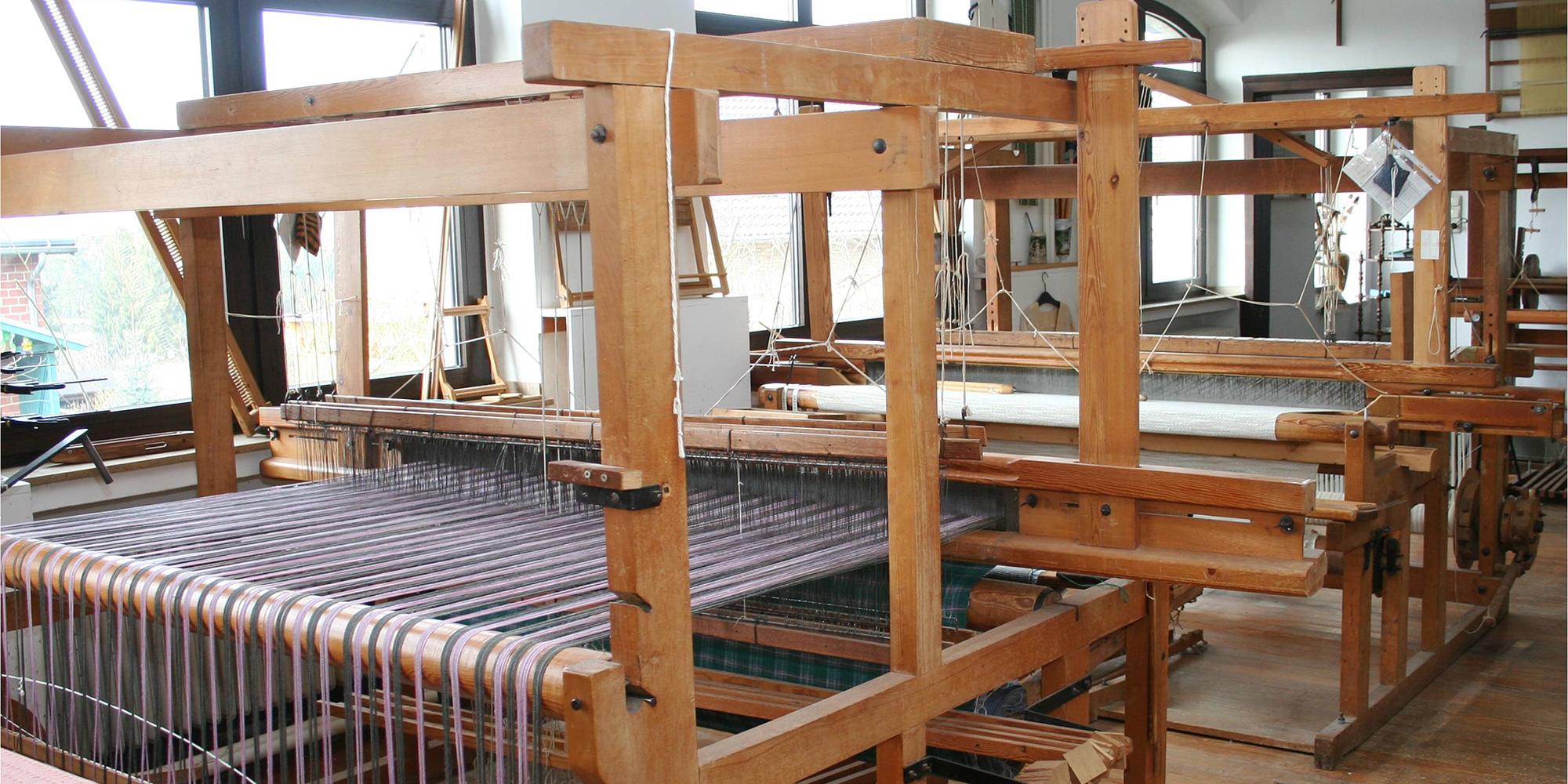 Werkstattraum der Werkgemeinschaft Ruppperath